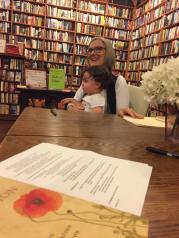 Pat Relf and special guest, Loganberry Books, Cleveland, July 9, 2017