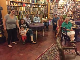 Loganberry Books, Cleveland, July 9, 2017