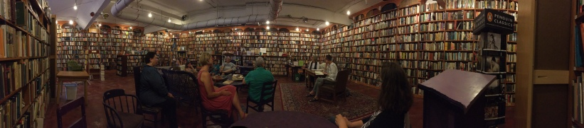 Loganberry Books, Cleveland, July 9, 2017 Photo by Alex Leslie