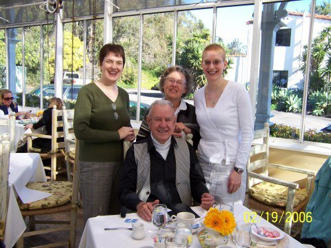 With the Moodys in Santa Barbara