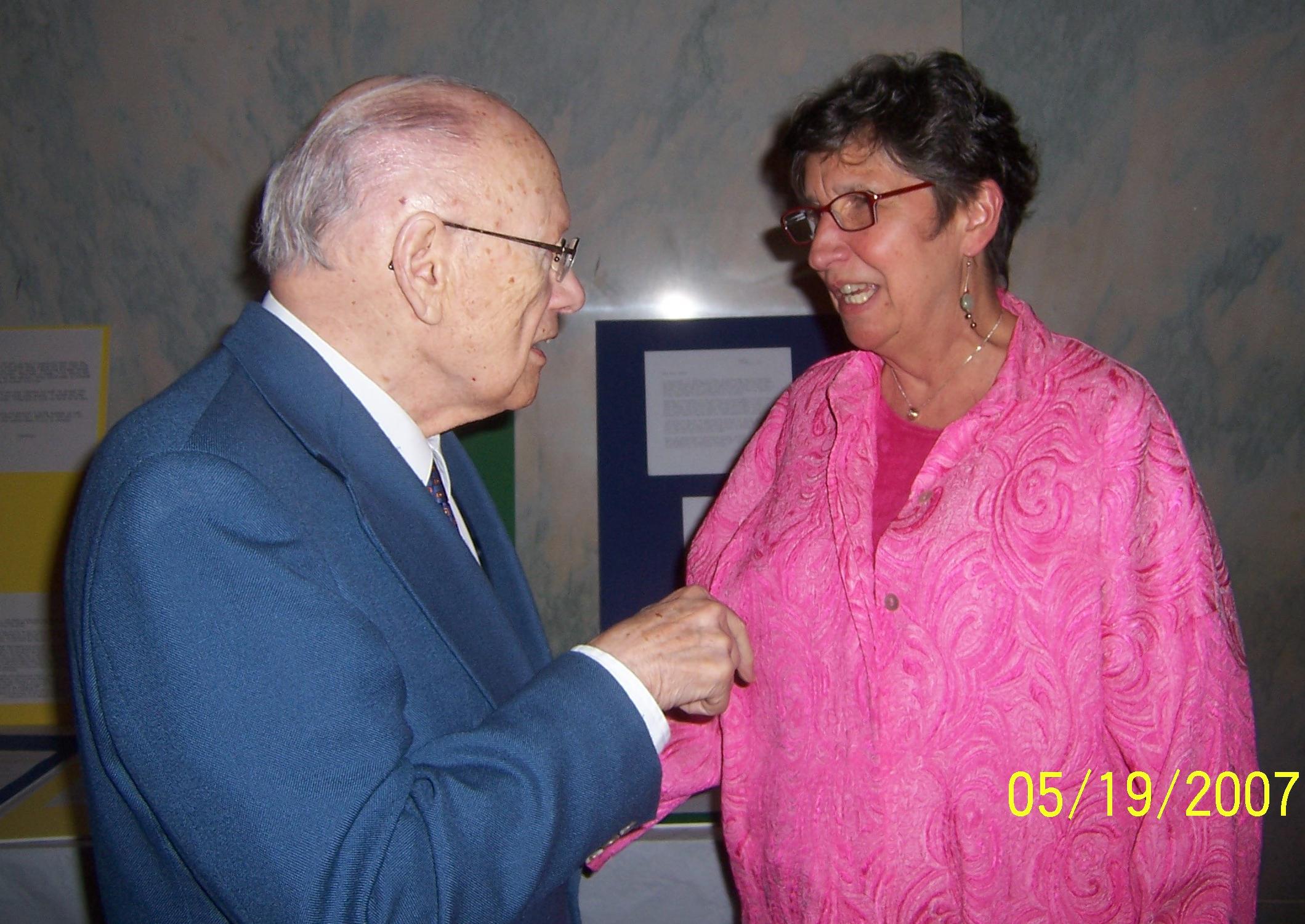 Rev. E. Spencer Parsons and Rev. Donna Schaper